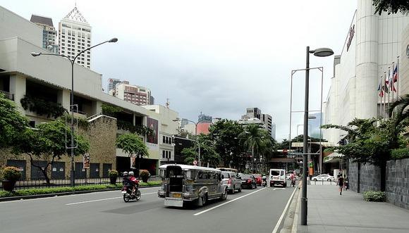 Makati Avenue, Makati CBD, Manila, Philippines