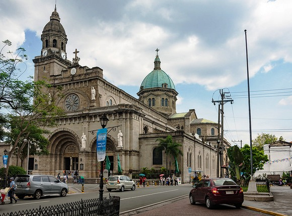 Manila Cathedral, Intramuros, Manila, Philippines