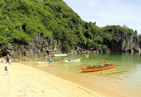 Napla Beach, Caramoan Peninsula, Camarines Sur, Philippines