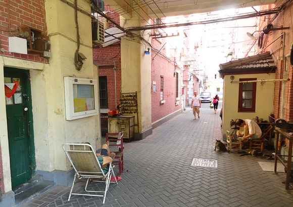 Near Yanqing Road, French Concession, Shanghai