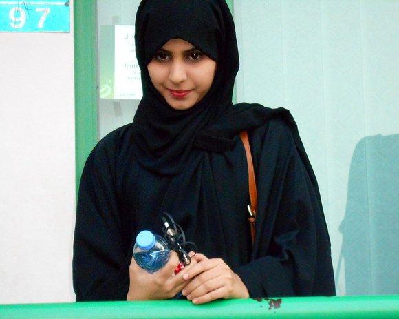 Omani Girl, Muscat, Oman