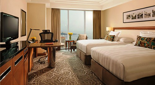 Superior Room, Sheraton Manila Bay (Pan Pacific Hotel), Manila