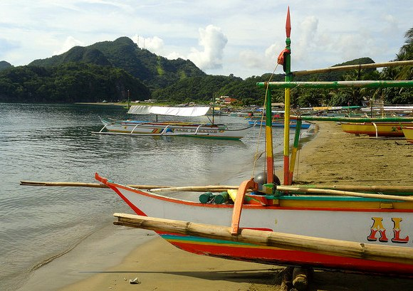 Paniman Beach, Caramoan, Caramoan Peninsula, Camarines Sur, Philippines