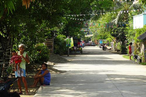 Paniman Main Street, Caramoan Peninsula, Camarines Sur, Philippines