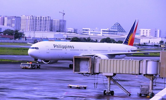 Philippine Airlines Aircraft at NAIA Manila Airport, Philippines