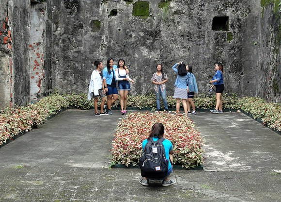 Philippine Girls at Fort Santiago, Intramuros, Manila, Philippines