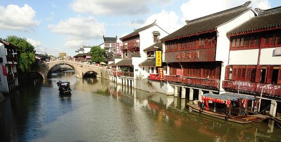 Qibao Old Town, near Shanghai