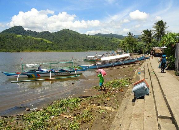 Sabang Port, Caramoan Peninsula, Camarines Sur, Philippines