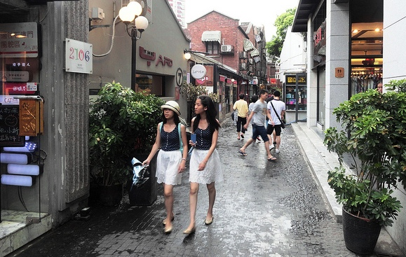 Tianzifang, Taikang Road, Shanghai