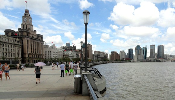 The Bund, the Riverfront of Shanghai