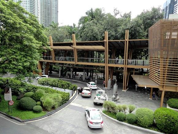 White Taxi, Greenbelt Mall, Makati, Manila, Philippines
