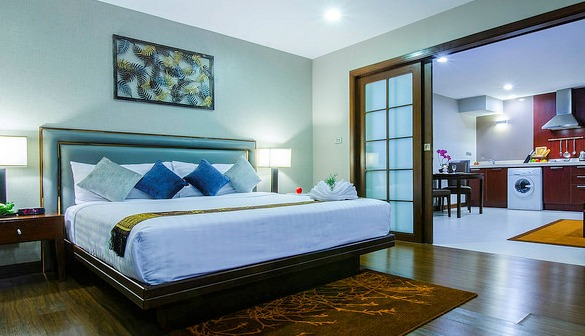 Suite Deluxe, Grand Mercure Bangkok Asoke Residence, Sukhumvit, Bangkok
