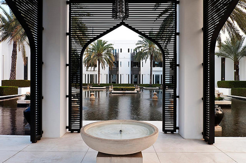 Garden and Water, The Chedi Muscat, Oman
