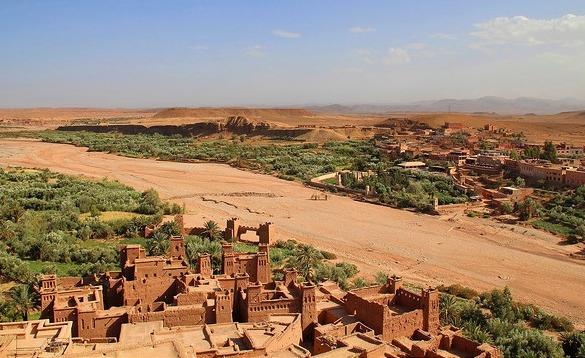 Kasbah Ait Ben Haddou, near Ouarzazate, Morocco