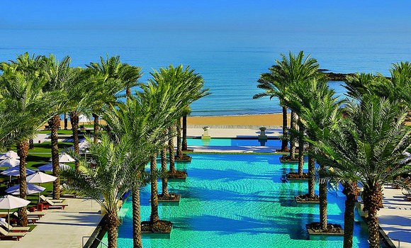 Main Swimming Pool, Al Bustan Palace, Muscat, Oman