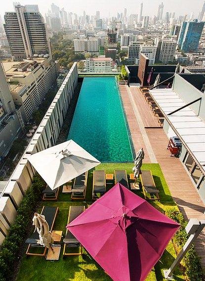 Rooftop Swimming Pool, Mercure Bangkok Siam, Siam, Bangkok, Thailand