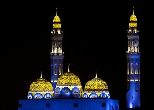 Mohammed Al Ameen Mosque, Muscat, Oman