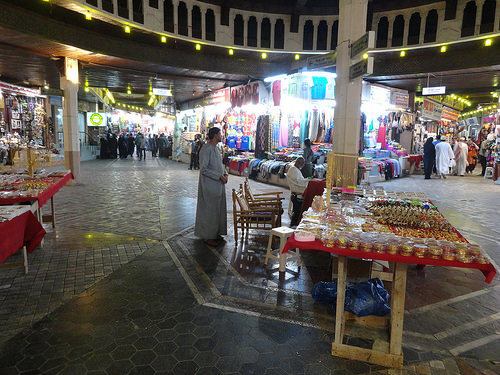 Mutrah Souq in the Evening, Muscat, Oman