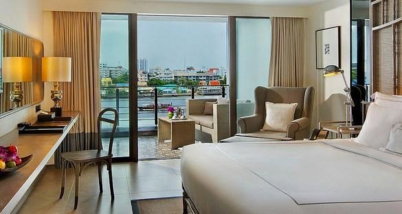 Deluxe Riva Room, Riva Surya, Banglamphu, Bangkok