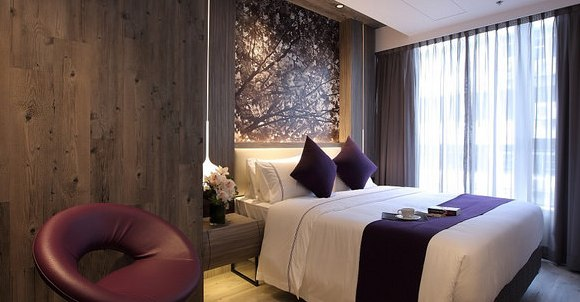 Superior Room, The Perkin Hotel, Tsim Sha Tsui, Kowloon, Hong Kong