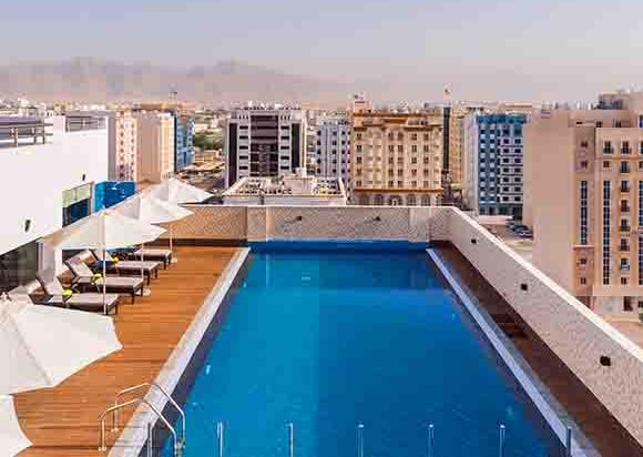 Swimming Pool, Centara Muscat Hotel, Oman