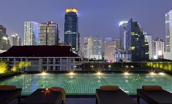 Swimming Pool, U Sukhumvit Bangkok Hotel, Sukhumvit, Bangkok, Thailand