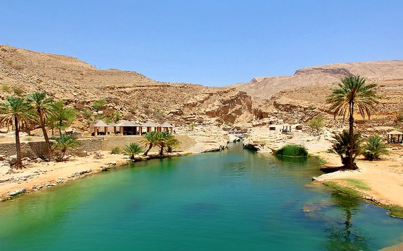 Wadi Bani Khalid, Sultanate of Oman