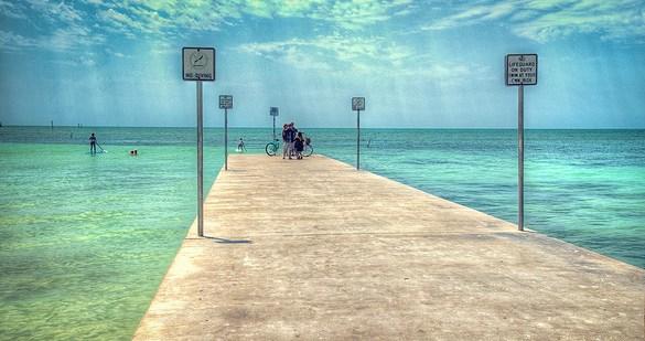 Pier, Key West, Florida Keys, South Florida