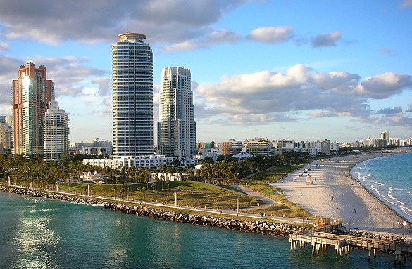 South Point Park, Miami Beach, Florida