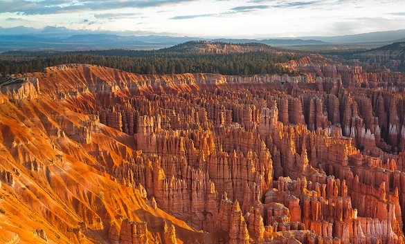 Bryce Amphitheater Panorama, Bryce Canyon National Park, Utah, United States of America