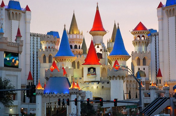 Excalibur, Las Vegas, Nevada, USA