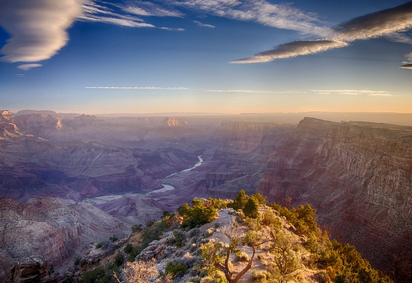 Grand Canyon Desert Watch Tower, Grand Canyon National Park, Arizona, United States of America