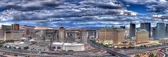Las Vegas from the Rio All Suite Hotel & Casino, Nevada