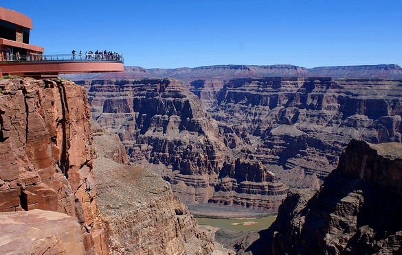 Skywalk, Grand Canyon West, Indian Hualapai Reservation, Arizona, United States of America