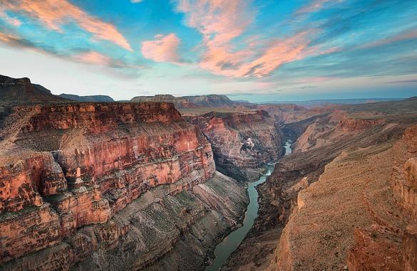 Le 9 migliori escursioni al grand canyon in bus aereo ed for Grand canyon north rim mappa della cabina