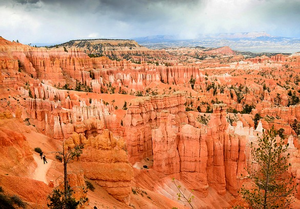 View of Bryce Canyon National Park, Utah, United States of America