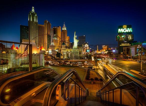New York New York Hotel & Casino and MGM Grand, Las Vegas, Nevada