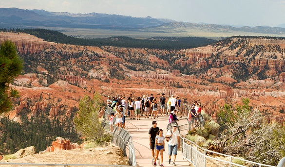 Viewpoint in Bryce Canyon, Utah, United States of America