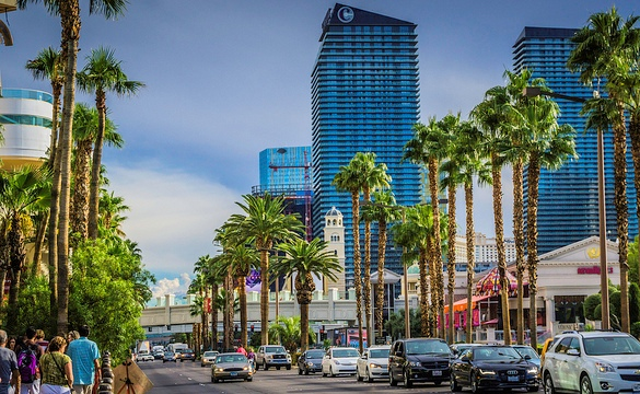 Walking the Strip, Las Vegas, Nevada