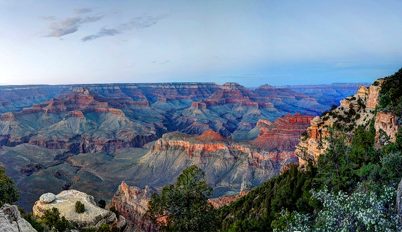 Yaki Point, South Rim, Grand Canyon National Park, Arizona, United States of America