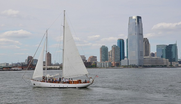 Shearwater Sailing Tour to Lady Liberty, New York City, New York, USA