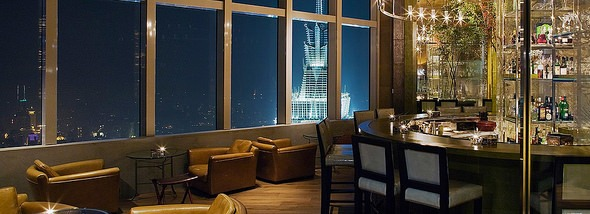The Bar Level 87 at Park Hyatt Shanghai