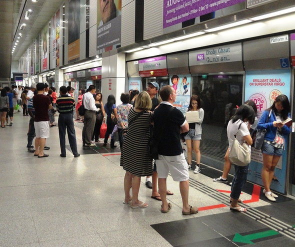Dhoby Ghaut MRT Station, Singapore Metro