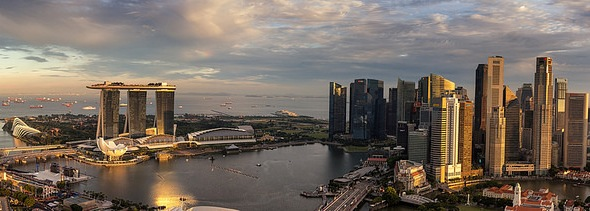 Marina Bay, Central Business District and Singapore River, Singapore