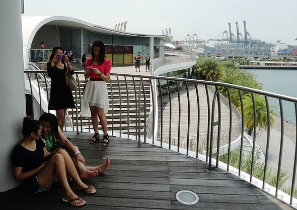 Singaporean Girls at VivoCity, Harbourfront, Singapore