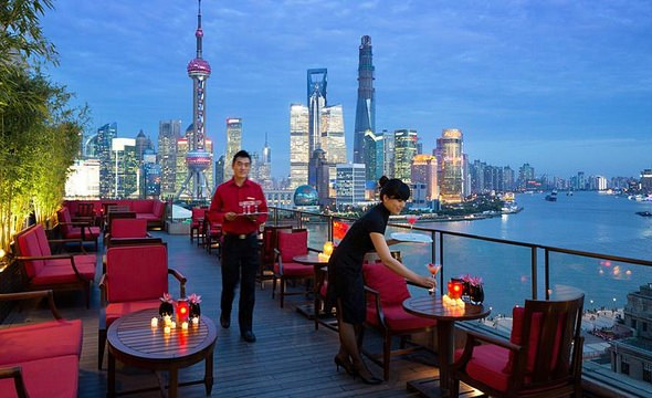 Sir Elly's Terrace at Peninsula Shanghai