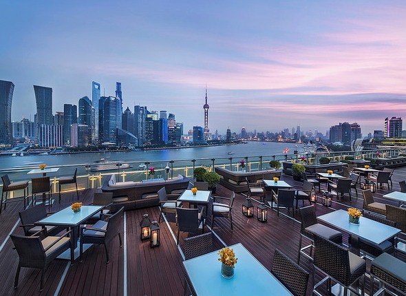 TOPS Riverside Terrace at Banyan Tree Shanghai