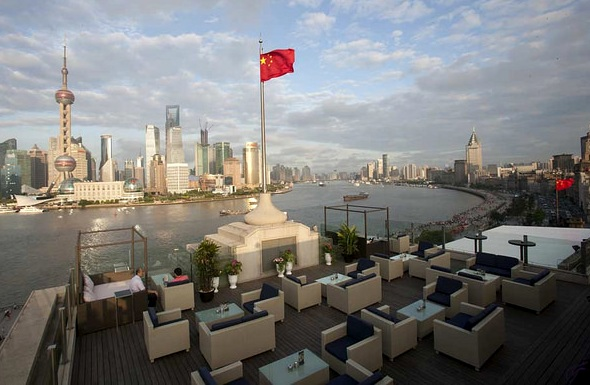 Roosevelt Sky Bar at The House of Roosevelt Shanghai