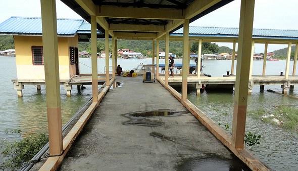 Kuala Abai Jetty, Kota Belud, Sabah, Malaysian Borneo