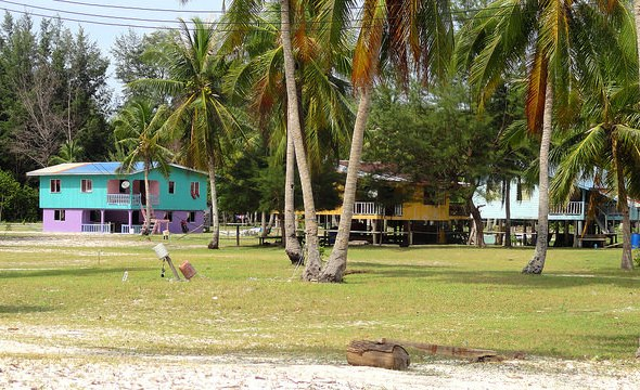 Northern Village, North of the Pier, Mantanani Island, Sabah, Malaysian Borneo